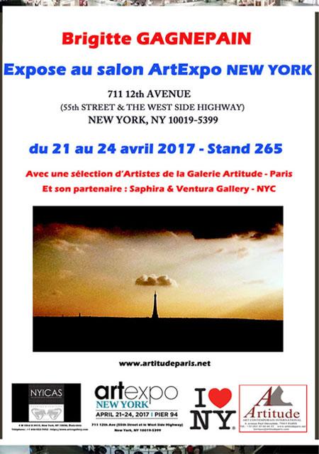 ArtExpo New York Ombrelle Céleste