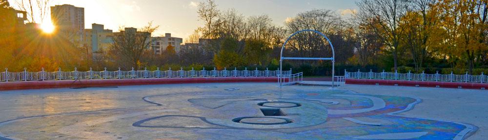 Réaménagement de la pataugeoire du Parc André Malraux en aire de jeux d'eau
